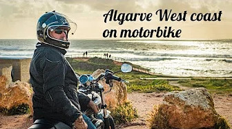 Algarve West coast On Motorbike
